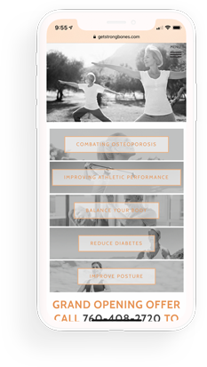 biostrength mobile website