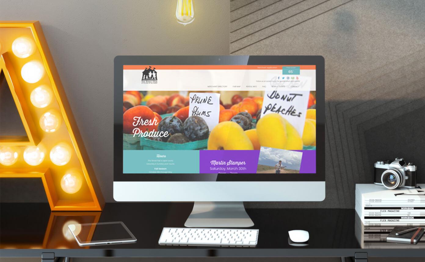 web design for outdoor market
