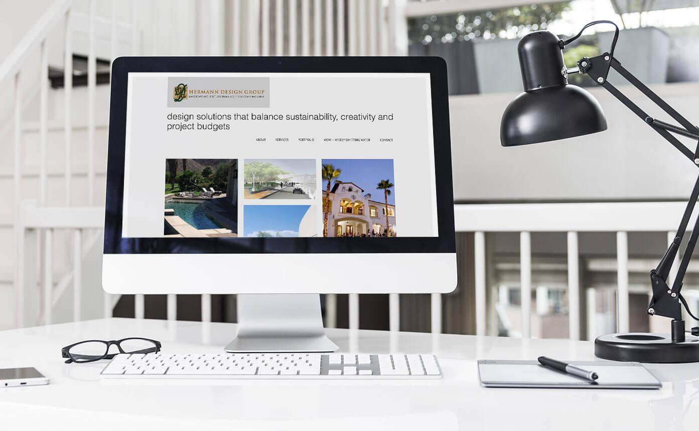 website design for landscape architect firm