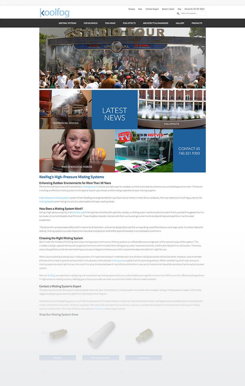koolfog responsive web design